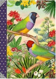 Illustrated little notebook Gwenaëlle Trolez Créations - Les Oiseaux