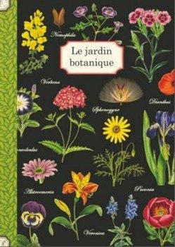 Illustrated notebook Gwenaëlle Trolez Créations - Le jardin botanique
