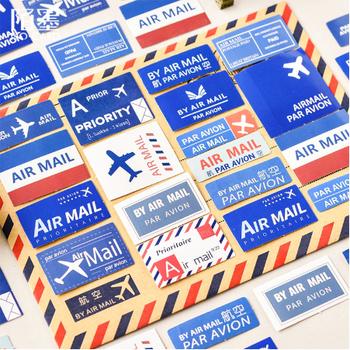 Sticker Flakes Box | Par Avion By Airmail