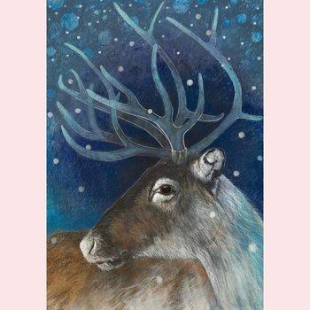 Postcard Loes Botman | Reindeer II