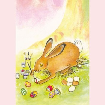 Postcard Geertje van der Zijpp | Easter Bunny