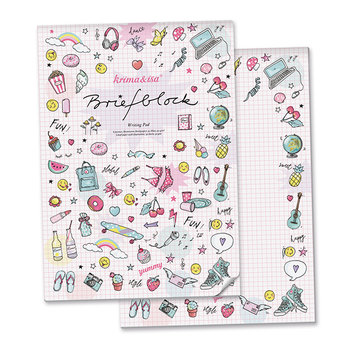 A4 Letter Paper Pad - Girlpower