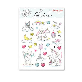 5 Sticker Sheets Krima & Isa | Unicorn