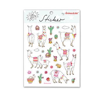 5 Sticker Sheets Krima & Isa | Alpaca