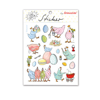 5 Sticker Sheets Krima & Isa | Easter
