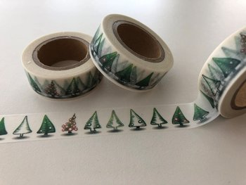 Washi Masking Tape | Christmas Trees