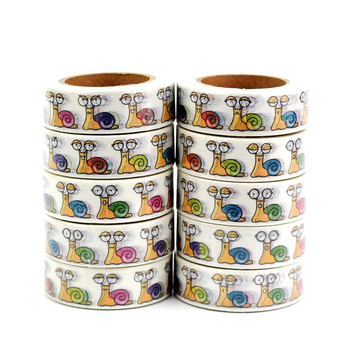 Washi Masking Tape | Funny Snails