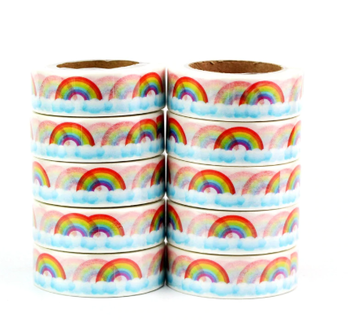 Washi Masking Tape | Rainbows