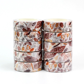 Washi Masking Tape | Fall Leaves