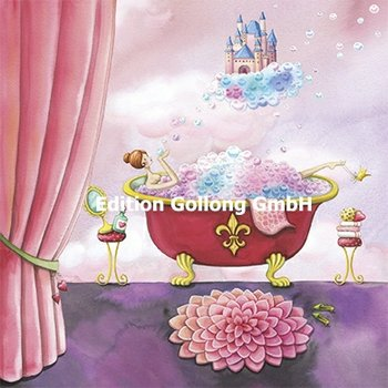 Nina Chen Postcard | Woman in bathtub