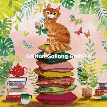 Mila Marquis Postcard | Cat
