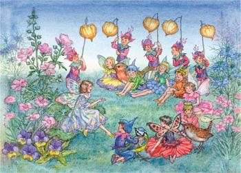 Postcard Molly Brett   The Runaway Fairy