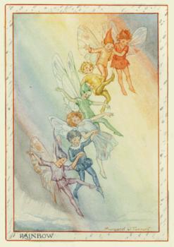 Postcard Margareth W. Tarrant   Rainbow Fairies