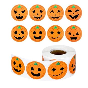 8 Stickers | Pumpkin Faces