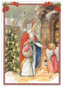 Postcard Edition Tausendschoen Merry Christmas
