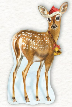 Shaped Postcard Edition Tausendschoen Specials   Deer WITH ENVELOPE