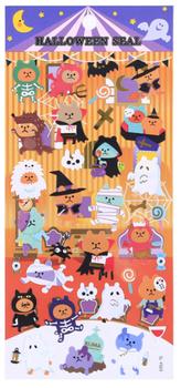 Halloween Seal Sticker