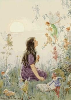 Postcard Margareth W. Tarrant   Fairy Secrets