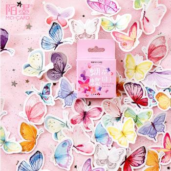 Sticker Flakes Box | Butterfly Garden