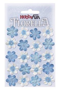 Florella Paper Flowers Blüten blau, 2cm