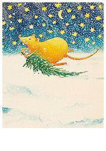 Postcard | A.Versteijne/Kertsmuisje