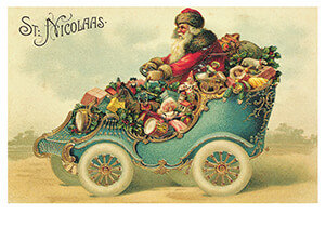 Postcard   Oude prentbriefkaart