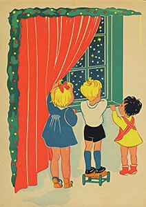 Postcard   Tekenaar: Henny Box Ca. 1935