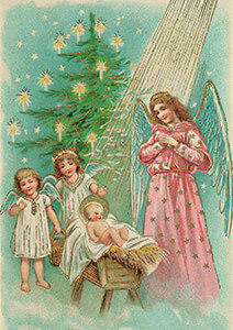 Postcard   Prentbriefkaart, ca. 1900