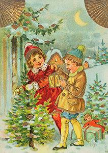 Postcard   Prentbriefkaart, ca. 1910