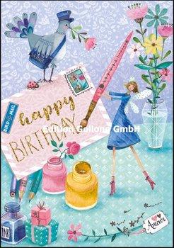 Mila Marquis Double Card | Happy Birthday