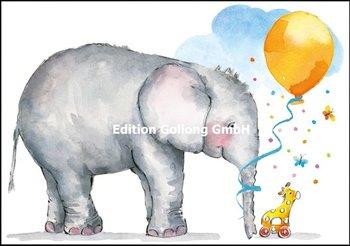 Carola Pabst Double Card | Baby (Elephant)