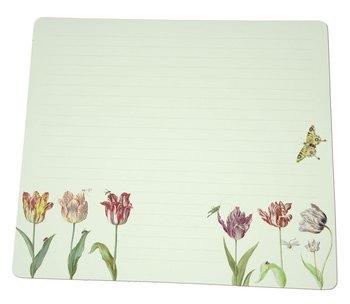 Notebook Desk Planner | Tulpen/Tulips, Jacob Marrel, Collection Rijksmuseum