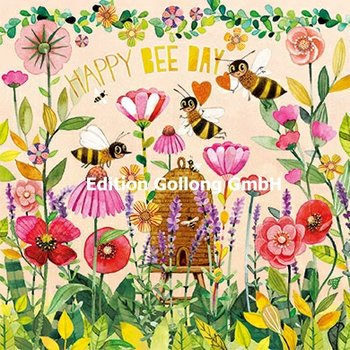 Mila Marquis Postcard | Happy Bee Day (Bees)
