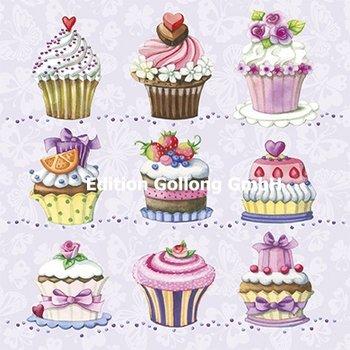Nina Chen Postcard | Cupcakes
