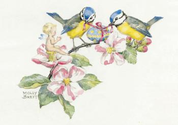Postcard Molly Brett | Happy Easter