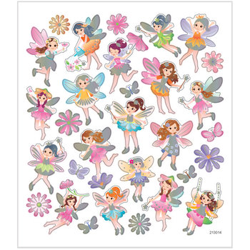 Seal Sticker with Silver Foil | Fairy