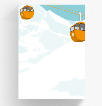 A5 Letter Paper Pad crissXcross | Gondela
