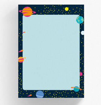A5 Letter Paper Pad crissXcross | Cosmos