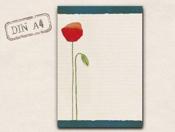 A4 Letter Paper Pad TikiOno | Mohn