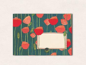 10 x Envelope TikiOno   Mohn
