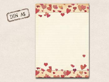 A5 Letter Paper Pad TikiOno | Zuckerherzen