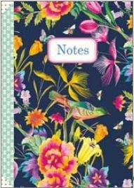 Illustrated little notebook Gwenaëlle Trolez Créations - Fleurs d'été