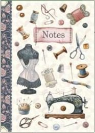 Illustrated little notebook Gwenaëlle Trolez Créations - Couture