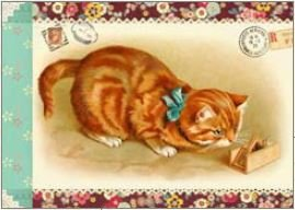 Illustrated little notebook Gwenaëlle Trolez Créations - Chats