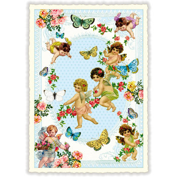 Postcard Edition Tausendschoen   DANCE OF THE FAIRIES