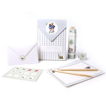 Boy's Letter Writing Set - Wrendale Designs