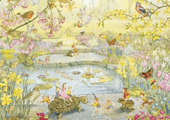 Postcard Molly Brett   Garden Magic