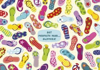 Lali Postcard   Zoekopdracht Het perfecte paar slippers!