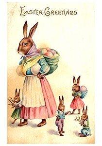 Victorian Postcard | A.N.B. - Paashaasjes