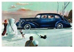 Postcard | Charles Burki - Winter fun